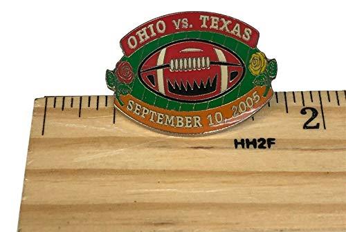 Ohio Buckeyes vs. Texas Longhorns September 10, 2005 Football Lapel Pin