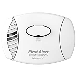 First Alert CO400 Carbon Monoxide Alarm, Battery Powered
