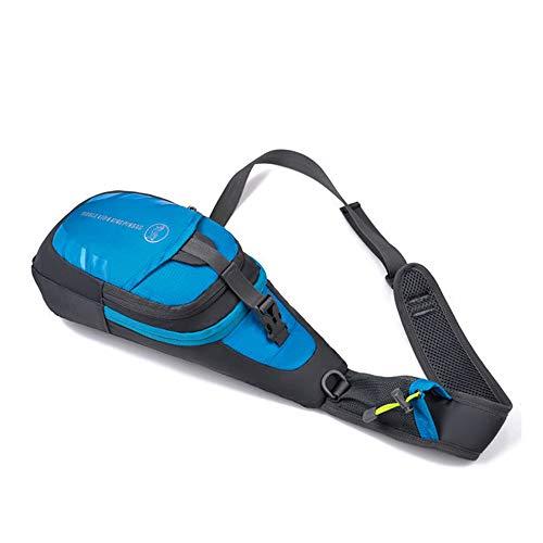al Ocio Xuanbao Hombres Libre Cuerpo de Mujeres Pequeño Day Color Cofre y Mini Azul Azul Aire cómodo Honda Mochila la Bag Cruzado Bolsos Hombro portátil ZFZqa