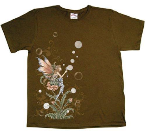 Bubble Sprite Amy Brown Fairy T-Shirt Medium