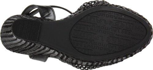 Sandalo Con Zeppa Dolce Semplice Da Donna Cinese Della Lavanderia