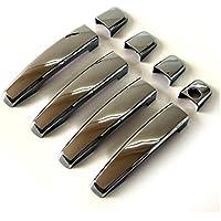 KS1053 - Manillas de acero inoxidable cromado