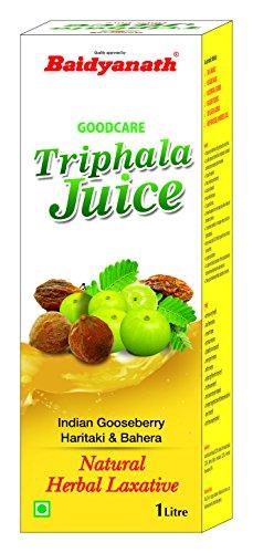 Baidyanath Triphala Juice – Ayurvedic, Herbal Laxative – 1L