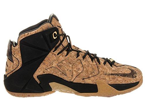 Nike Mænds Lebron Xii Ext Kork Basketball Sko Kork-naturlige / Naturlige-sort-metallic Guld 7HnlJ9