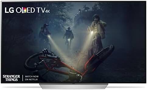 LG Electronics OLED55C7P 55-Inch 4K Ultra HD Smart OLED TV (2017 Model)