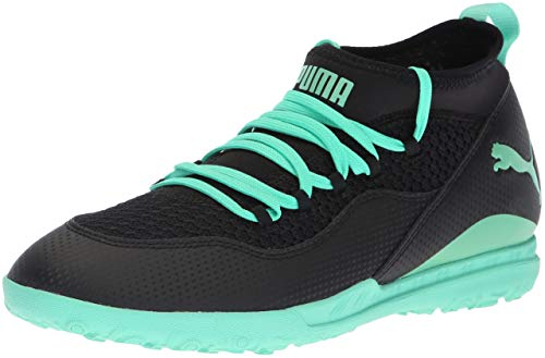 Picture of PUMA Men's 365 FF 3 ST Soccer Shoe, Black-Biscay Green, 10.5 M US