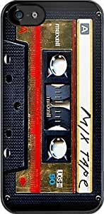 SUUER Maxell Gold Mix cassette tape Custom Hard CASE for iPhone 5 5s Durable Case Cover