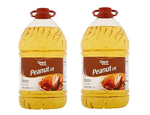 Great Value Peanut Oil Perfect For Frying, 128 oz (Pack of 2) (Best Peanut Oil For Turkey Frying)