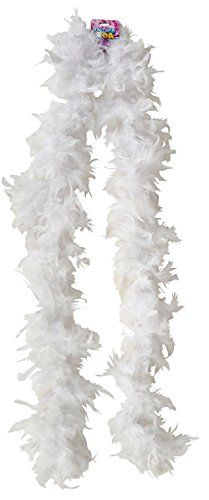 Economy 6' White Feather Boa Costume Accessory for $<!--$4.35-->