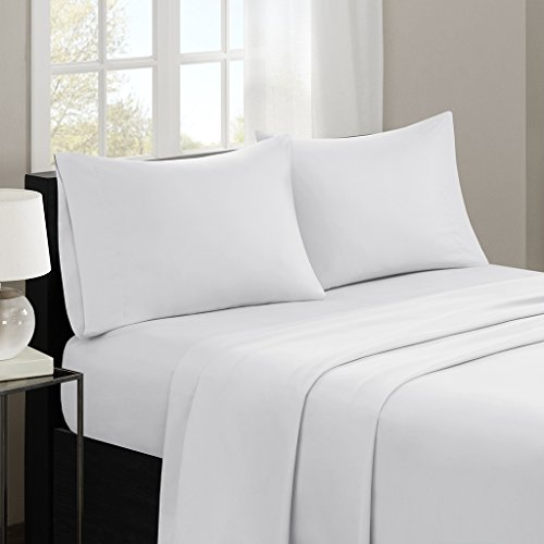 Madison Park MP20-1175 Sheet Set, Queen, Ivory