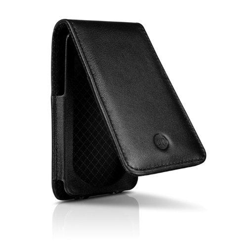 17 Hipcase Folio (DLO HipCase Leather Folio Case for iPod touch 2G, 3G (Black) )