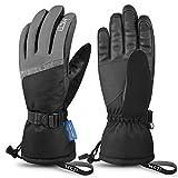 MCTi Ski Gloves,Winter Waterproof Snowboard Snow 3M Thinsulate Warm Touchscreen Cold Weather Women...