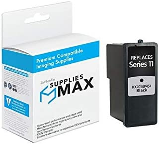 592-10327 Series 11 SuppliesMAX Compatible Replacement for Dell 948 AIO//V505//V505W Black Inkjet