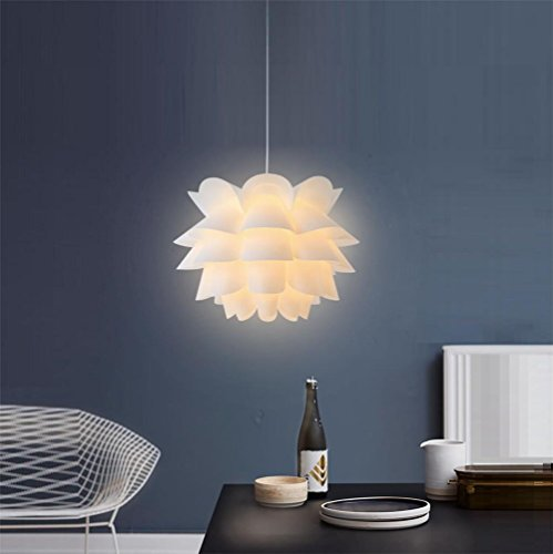 Pendant Lights lotus pendant lamps for living room restaurant bedroom Home lighting Ceiling Room Hanging Lamp ?Does not contain light (Burgandy Ceiling Lighting)