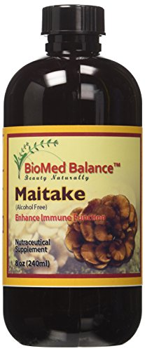 BIOMED BALANCE Maitake Herbal Supplement, 8 Fluid Ounce