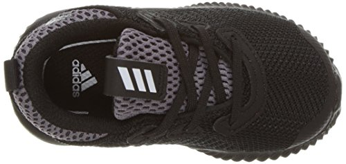 adidas Kids' Alphabounce Running Shoe, Black/White/Utility Black, 10 Medium US Toddler by adidas (Image #8)