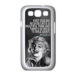ebaykey Design Marilyn Monroe Quote SAMSUNG GALAXY S3 I9300 Best Durable Plastic Case For Fans