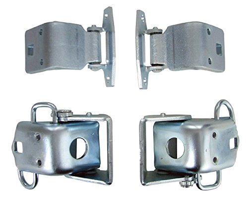 Auto Metal Direct Door Hinges - Upper/Lower Set - 66-70 B-Body ()