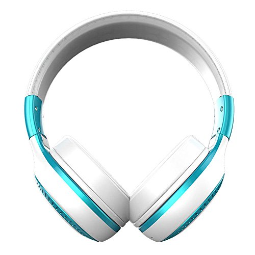 AJIUHE 丨丨Bluetooth Wireless Foldable Stereo Headphone,Zealot B20 Folding 3D Hi-Fi Bass Earbuds Headphones Over Ear with Microphone and Volume Control,for PC/Cell Phones/TV/Ipad