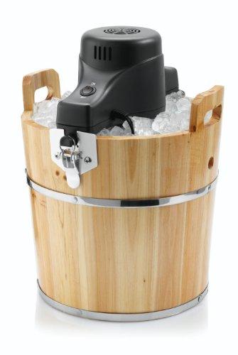 Sunbeam FRSBWDBK 4-Quart Ice Cream Wooden Bucket