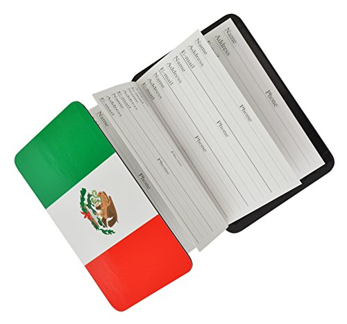 (Credit Card Size Address Book Accordion Style with Magnetic Closure (Mexico))