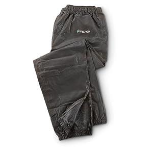 Frogg Toggs PA83102-01LG Pro Action Rain Pants, Size Large, Black