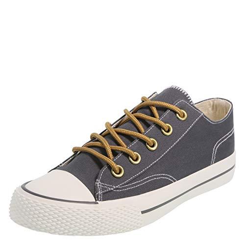 Airwalk Navy Canvas Women's Legacee Sneaker 5.5 Regular