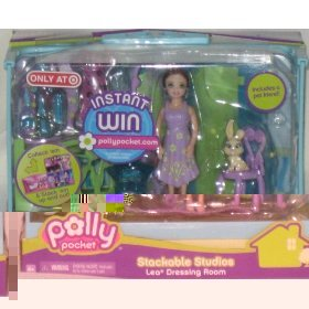 Polly Pocket Stackable Sudios Lea Dressing Room