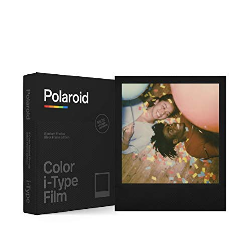 🥇 Polaroid – 6019 – Película instantánea Color para i-Type – Black Frame Edition