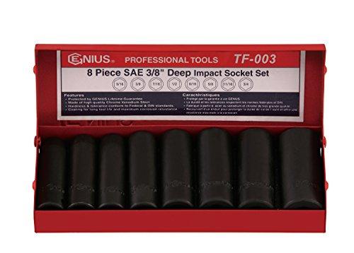 Genius Tools 8pc 3/8