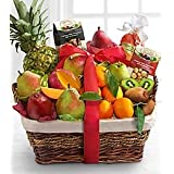 Bountiful Gourmet & Fruit Basket