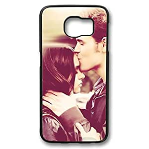 iCustomonline The Vampire Diaries Custom Black Plastic Hard Back Cover for Samsung Galaxy S6