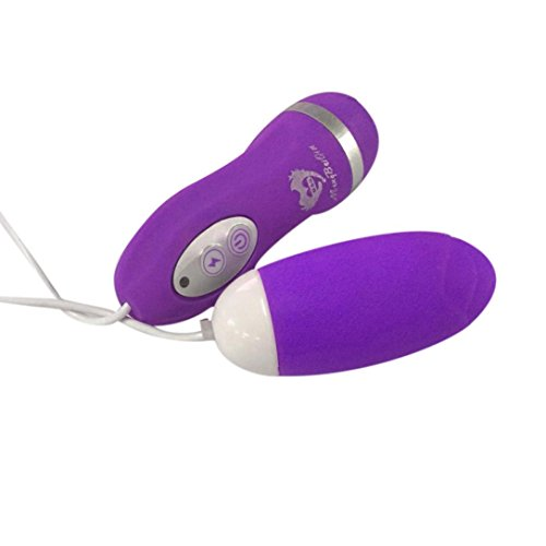 YIWULA Waterproof G-Spot Stimulation Egg Vibrator (Purple)