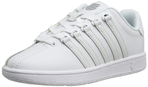 K-Swiss CLASSIC VN White/White,1 M US Little Kid