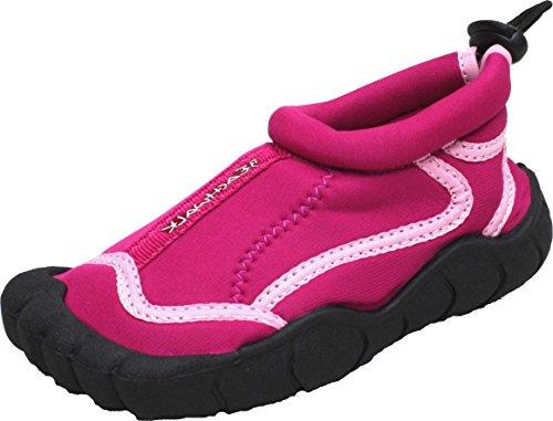 BOCKSTIEGEL® LANGEOOG Zapatos Aguamarina (28-35 Niños 2 Diseños Neopreno) fuchsia