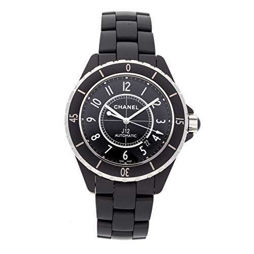 Chanel J12 Mechanical (Automatic) Black Dial Mens Watch H3131 (Certified Pre-Owned)