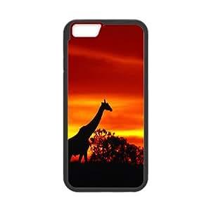 iPhone 6 Plus 5.5 Inch Phone Case Giraffe L7D386583