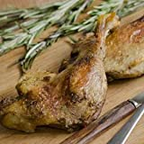 Duck Legs Confit, Individually Packed - 7 oz (Pack of 6)