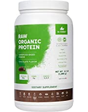 Dr. Forest Organic Raw Cold Pressed Vegan Plant Protein Powder - Add to Your Favorite Smoothies or Shakes - Non-GMO Certified Organic 20 Grams Protein per Serving