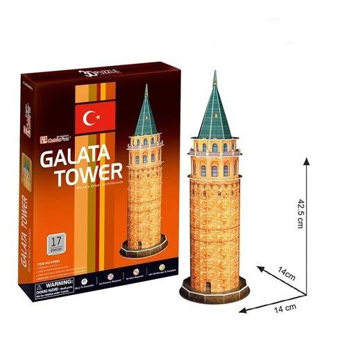 - 3D Puzzle - Turkey, Istanbul: Galata Tower