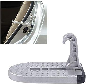 Iycorish Pedal del Pie del Gancho del Cierre de Puerta de La Aleación de Aluminio de Automotriz para Camión SUV