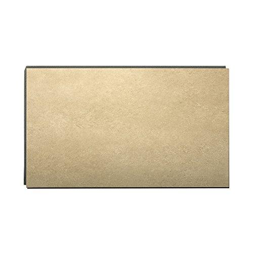 DumaWall 14.76 in. x 25.59 in. Vinyl Interlocking Waterproof Wall Tile/Backsplash (8 Pack) (Windswept Sand)