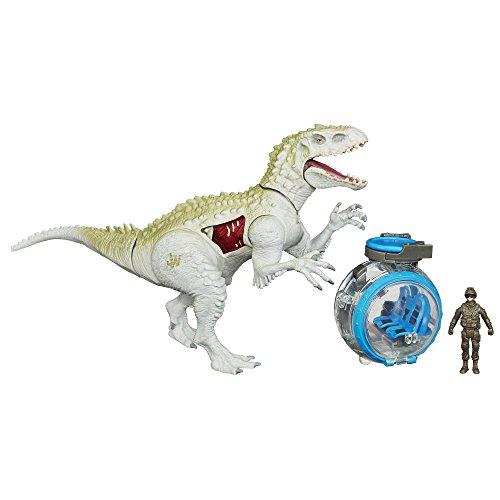 Jurassic World Indominus Rex Vs  Gyrosphere Pack