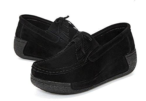 Sabe , Damen Sneaker Schwarz