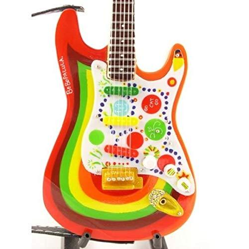 Music Legends Collection Guitare Miniature Fender Stratocaster Rocky G Harrison Beatles