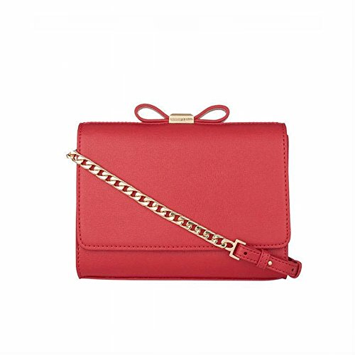 Rosso Borsa Tracolla A Tasca Zip Donna Croce Ytty Di Donne Diagonale Design E Cerniera Con pp6HrZ