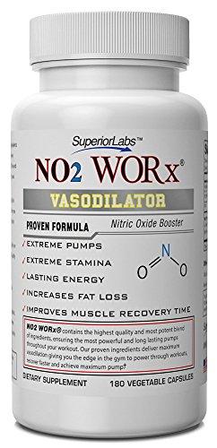 # 1 NO2 Par Labs supérieures -Superior VASODILATION- phénoménale efficacité 4,600mg Massive oxyde nitrique Complexe -Developed et fabriqué aux États-Unis - 100% Satisfait ou Remboursé