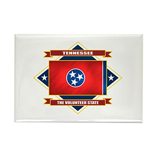 CafePress - Tennessee Flag - Rectangle Magnet, 2