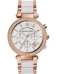 Womens Parker Rose Gold-Tone Watch MK5774