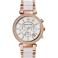 Michael Kors Women's Parker Rose Gold-Tone Watch MK5774